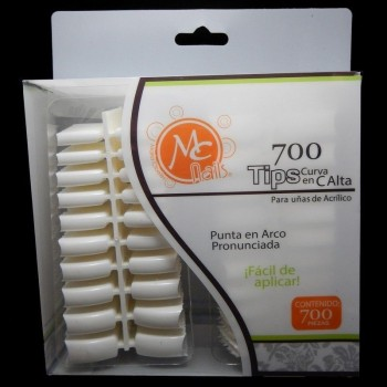 Tips MC Nails 700 pz
