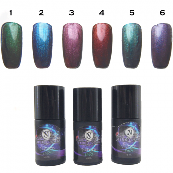 Aurora Boreal Studio Nails